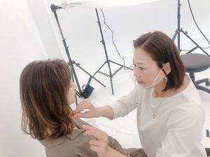 大人女性のヘアカタログ撮影☆☆