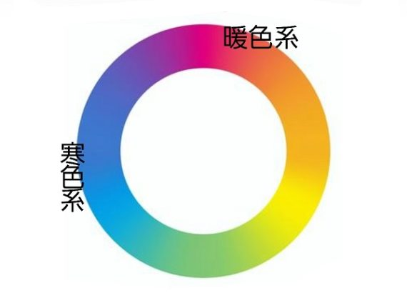 寒色系カラーと暖色系カラーとは!!