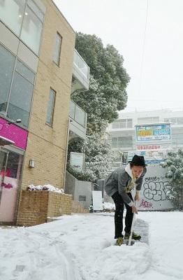 数十年ぶりの都心大雪◇◆
