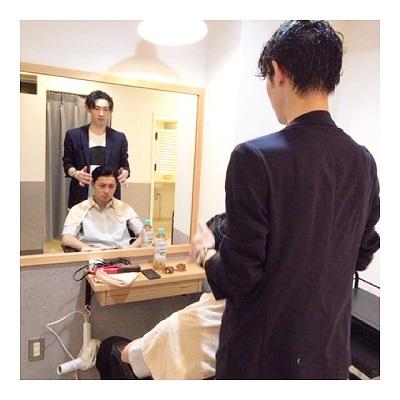 メンズヘアカタログ おしゃれボウズ撮影◇◇