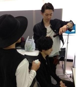 短髪男子の鉄板ヘアカタログ、撮影♪