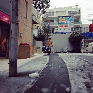 雪かき from mailo road★