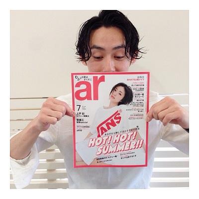 『ar 7月号』にヘアスタイルが掲載されました☆