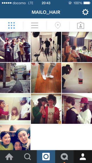 mailo Instagram始めました!!