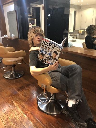 メンズヘアカタログ発売です!!